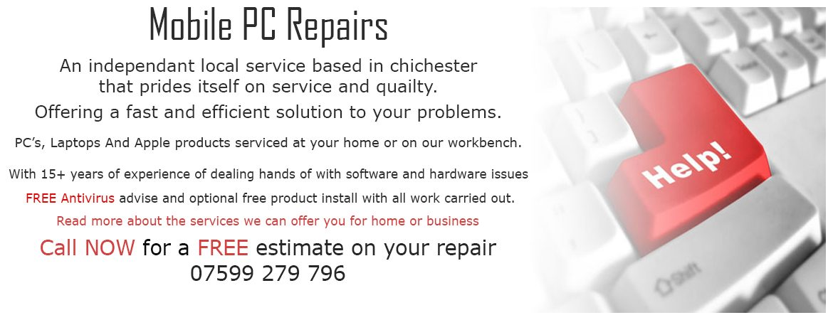 Chichester computer repairs